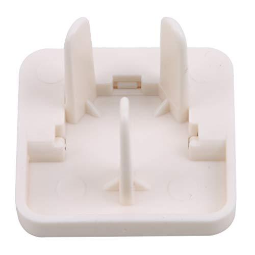 LIGHTBLUE Proofing Plug Covers, Kindersichere elektrische Schutzvorrichtungen Plug Socket Cover Plug Covers Sicherheitsbuchsenabdeckungen, 50 Stück
