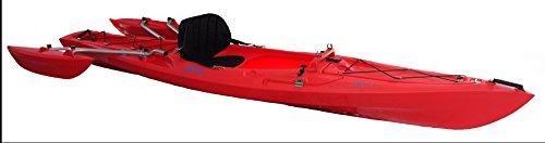 Tri-Kayak XS-1 Red Recreational Kayak
