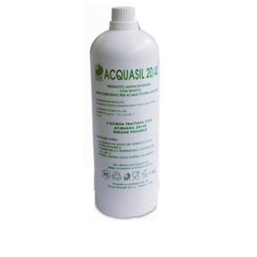 Acquasil 20/40 Polifosfato Liquido Anti Calcare Refill per Sistemi Minidos e Bravados
