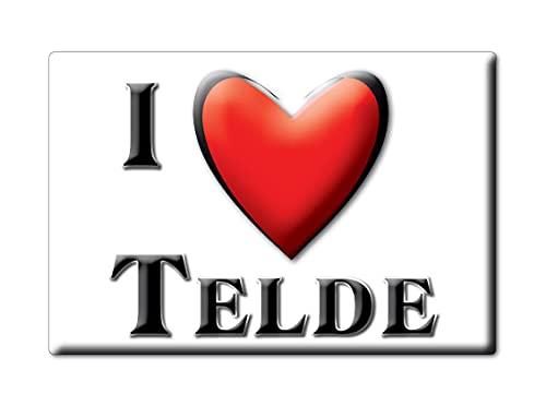 Enjoymagnets TELDE (GC) Souvenir IMANES DE Nevera ESPAÑA CA