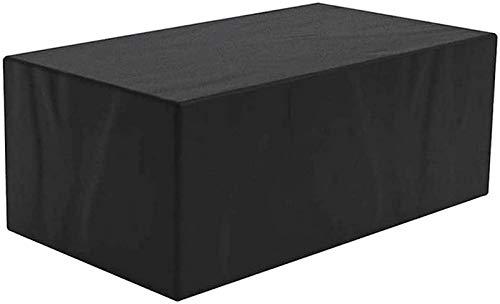 Pillowcase Fundas para mesas de Patio Fundas para Muebles de jardín al Aire Libre 18 x 18 x 10 Pulgadas, Tela Oxford Impermeable 432D Utilizada para la Funda Protectora de Muebles de césped de Patio