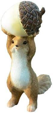 Gemmia Garden Squirrel Figurine- Acorn Statue 5 ☆ Low price very popular Raise