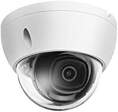 8MP 4K Security PoE IP Camera Outdoor,IPC-HDBW2831E-S-S2,Compatible with Dahua,Starlight IR Night Vision Dome IP Camere,H.265,Smart Detect,WDR,3D DNR,IP67,IK10,Built-in Micro SD Slot