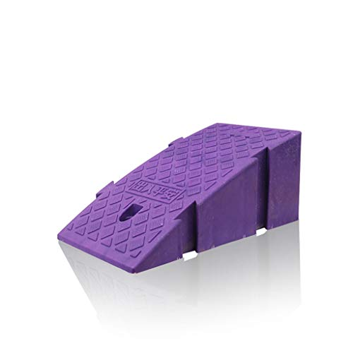 XUZgag Kleurrijke Ultra Light Splicing Ramps, Skateboard/fiets Uphill Ramps Family Car Curb Ramps Elektrische rolstoelen Ramps Safe bergopwaarts pad (Color : Purple, Size : 25 * 40 * 16cm)