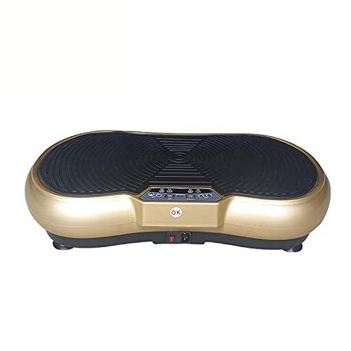 Fnho Plataforma Vibratoria Ultra Slim,Plataforma Vibración Motor Silencioso,Máquina de Adelgazamiento para moldear el Cuerpo, máquina de batido de pie-D