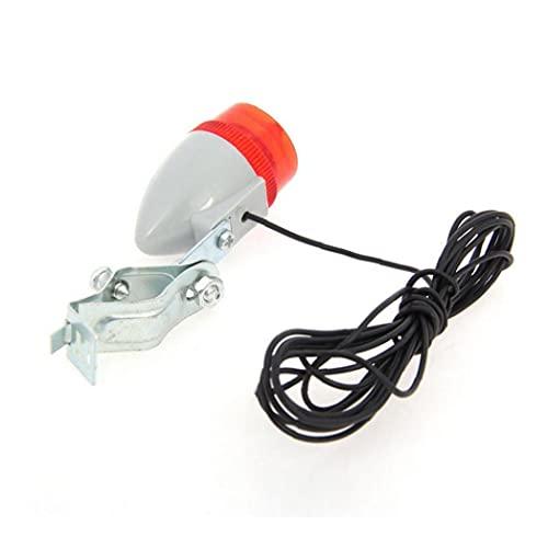 impulsado autónomos 6V 3W Ciclismo dínamo LED de la cola de la linterna y Piloto posterior luz de la bici de la bicicleta de seguridad sistema de la luz, la bicicleta se intercambia por piezas