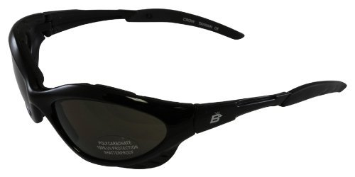 Birdz Eyewear Crow Riding Sunglasses (Black