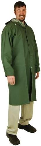 Heavy Duty Raincoat (Large) (PVC Coated Polyester) 60-inch