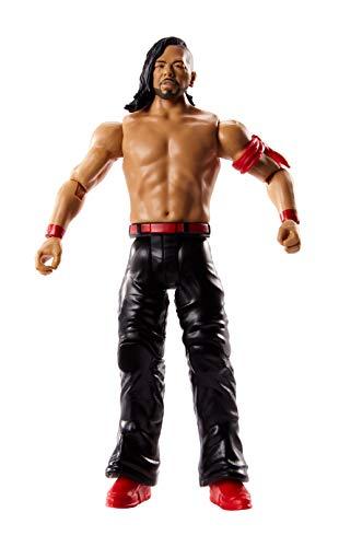 WWE - Figura básica Luchador Shinsuke Nakamura de 15 cm, Multicolor (Mattel GCB34)
