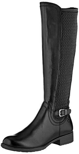 Tamaris Damen 1-1-25511-23 Hohe Stiefel, Schwarz (Black 1), 41 EU