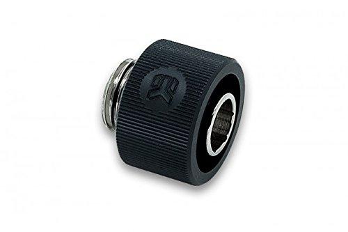 EK Water Blocks EK-ACF Fitting 10/16mm Negro - Accesorio de refrigeración