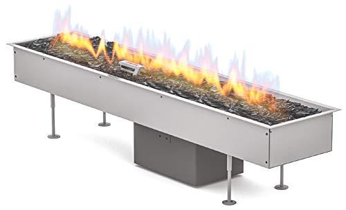 Planika Gas Line Outdoor GaLiO Automatic [automatische gasinbouwbrander voor buitenshuis]: gasfles (propaan, butaan) - zonder afstandsbediening - zonder WLAN-module