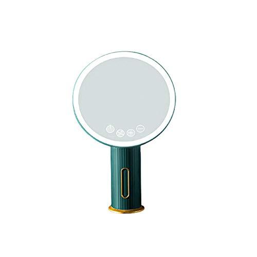 Espejo De Maquillaje De Mesa Led con Espejo Grande De 19 Cm,Espejo...