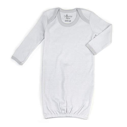 Tadpoles Organic Cotton Sleep Gown, Cocoa, 0-6 Months