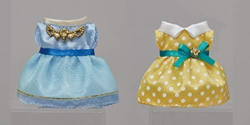 Sylvanian Families 6019 Set Vestidos Azul Marino y Azul Claro