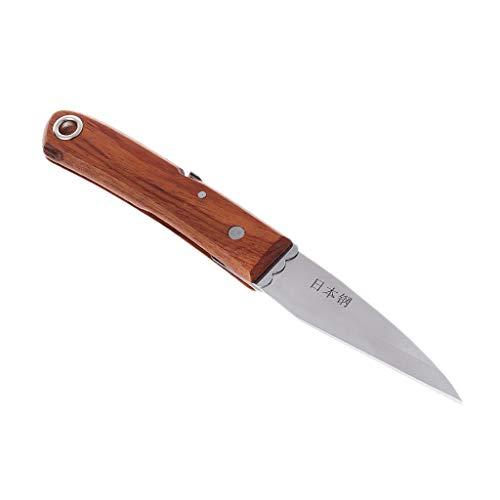 BIlinli Élagage Greffage Couteau Professionnel Pliant Jardin Cutter Ciseaux Semis Outils
