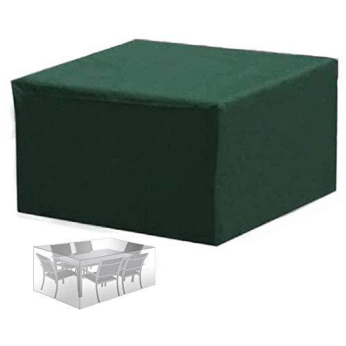 Abdeckung Gartenmöbel Gartentisch Abdeckung Wasserdicht, 210D Oxford,Abdeckung für Gartenmöbel-Set, Tisch und Stühle Outdoor Staubdicht