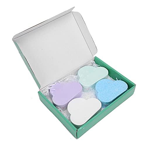 Mxzzand Bola de baño de Aceite Esencial, Bola de Sal de baño de Burbujas Rica en extracto Vegetal con factores antioxidantes para Promover el metabolismo