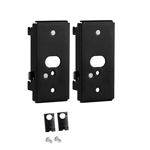 2 Piezas Soporte de Montaje en Pared de Repuesto de para Soporte de Pared Bose SlideConnect WB-50 - Negro (UFS-20)