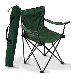 A&D Silla de Camping Plegable (Verde)