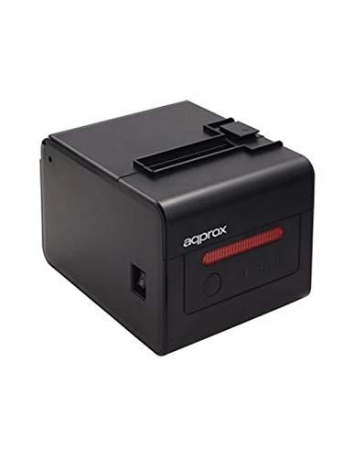 approx Impresora Tiquets aaPOS80 WiFi, Negro
