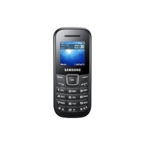 Samsung E1200 Telefono Cellulare, Nero [Italia]