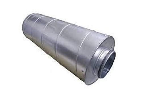Weedness Vents Schalldämpfer 100 mm / 60 cm - Rohrlüfter Abluftschlauch Isoliert Grow Indooro Anbau Klimagerät Klimaanlage Adapter Rohrventilator Schallgedämmt