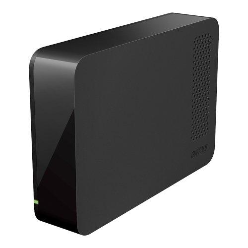 BUFFALO ターボPC EX2 USB3.0用 外付けHDD 1TB ブラック HD-LC1.0U3-BK
