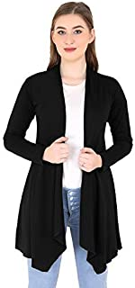 Riddle Women's Rayon Round Neck Shrug