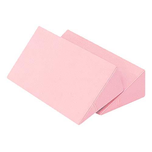 体位変換クッション 2個セット 日本製 綿100% 洗濯可能 床ずれ防止クッション 三角クッション 床ずれ クッション 体位変換 クッション 枕 体位変換枕 三角まくら 床ずれ予防 リハビリ 介護用クッション 7-TB-77-69-F (ピンク)