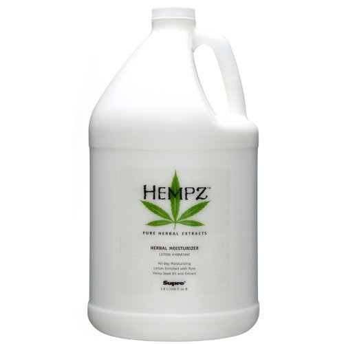 Price comparison product image Pure Herbal Extracts Herbal Body Moisturizer Lotion with Pure Hemp Seed Oil Original Gallon