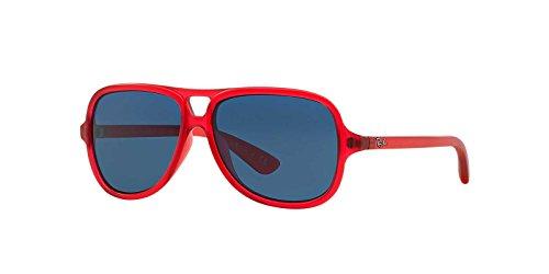 Ray-Ban Junior 0RB9059S 197/80 50 gafas de sol, Rojo (Red/Blue), Unisex Niños