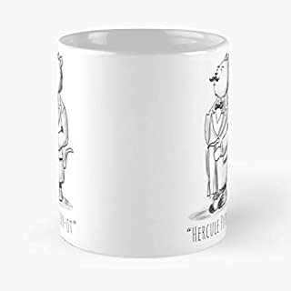 Cat Sleuth Detective Crime C Great Novelty 11oz Gift Cups
