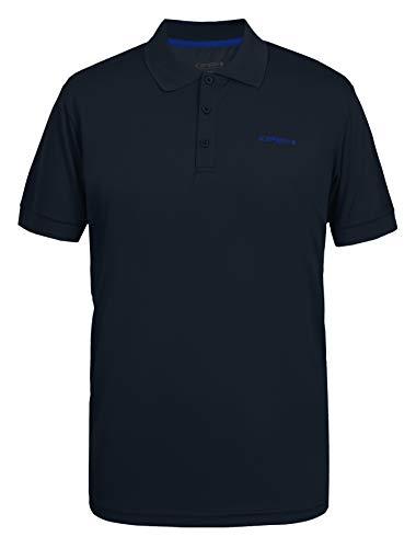 ICEPEAK Poloshirt für Herren. BELLMONT, dunkel blau, XL