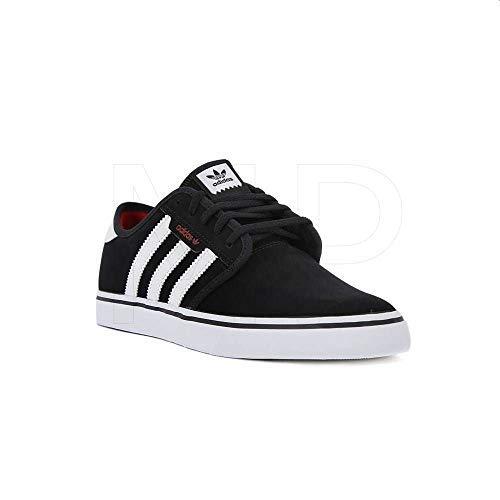 adidas Hombre Seeley Zapatos de Skate Negro, 46