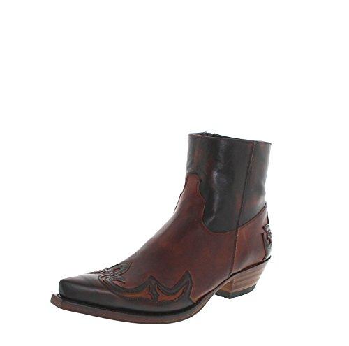 Sendra Boots Samuel 14379 Marron Tang/Herren Westernstiefelette Braun/Cowboystiefelette/Herrenstiefelette, Groesse:41