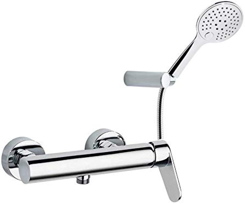 Ramón Soler 3608TR Einhebelmischer für Dusche, Modell Alexia, Chrom