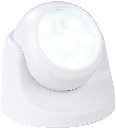 Luminea LED Spots ohne Kabel: Kabelloser LED-Strahler, Bewegungssensor, 360° drehbar, 100 lm, weiß (Kabellose LED Spots)