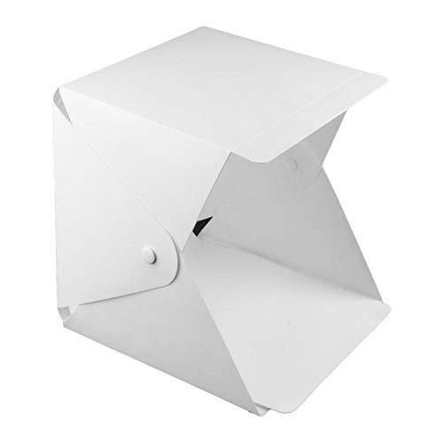 IPOTCH Estudio fotográfico Caja de luz 40cm portátil Plegable Profesional Mesa fotografía...