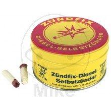 DIESELZUENDER 7MM - 137.62.50 - ZÜNDFIX - 7 mm - weiß/rot - Dose 100 Stück -