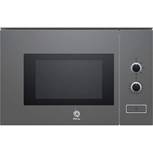 Balay 3CP5002A0 - Microondas integrable / encastre, 800 W, 20 L, color gris