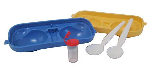 Sonja-Plastic Eierträger 2-Fach mit Salzstreuer Made in Germany