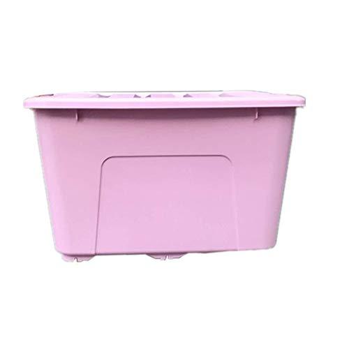 QARYYQ Grote transparante doos van kunststof voor het opbergen van wasmand