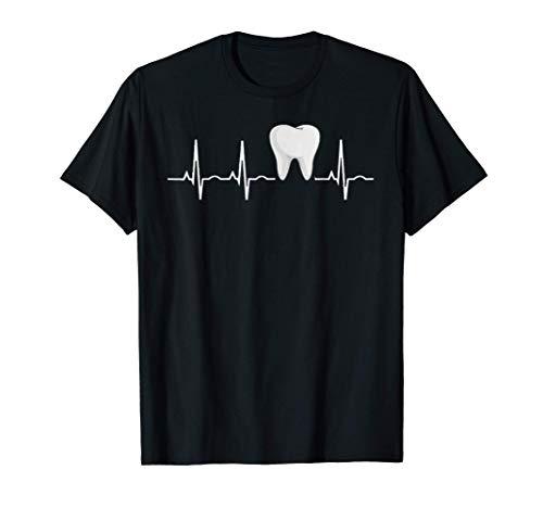 Amor Dentista Regalo Asistente dental Higienista Diente Camiseta