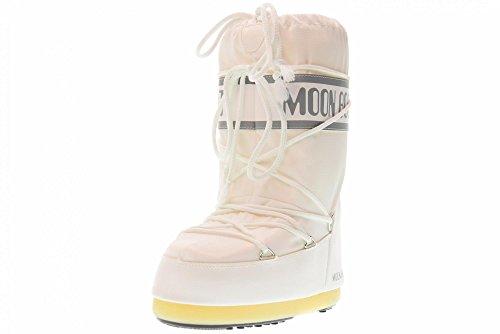 Moon-boot Nylon, Stivali Invernali Unisex Bambini, Bianco (Bianco 006), 31/34 EU