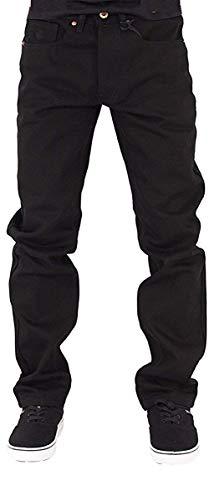 Rocawear Herren Jungen Doppel Relaxed Jeans Money Hip Hop - Schwarz, W32 - L33