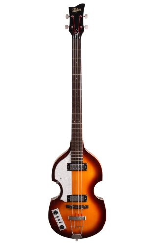 Hofner HIBBL Ignition Violin Left-Handed Electric Bass, Sunburst