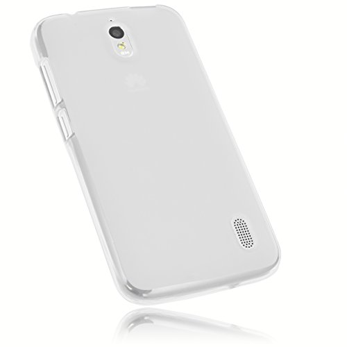 mumbi Hülle kompatibel mit Huawei Y625 Handy Hülle Handyhülle, transparent weiss