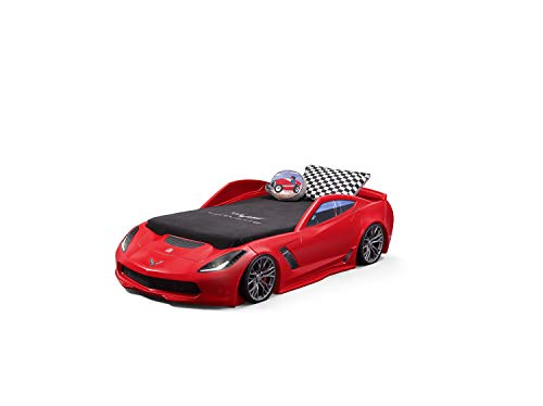 Red Corvette Toddler Car Bed With Lights