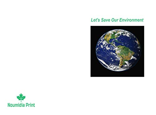 Notebook: Let's Save Our Environment (English Edition)